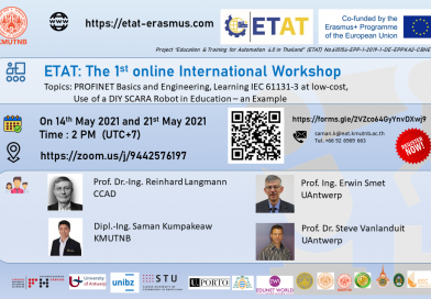 The 1st online international workshop will take place!